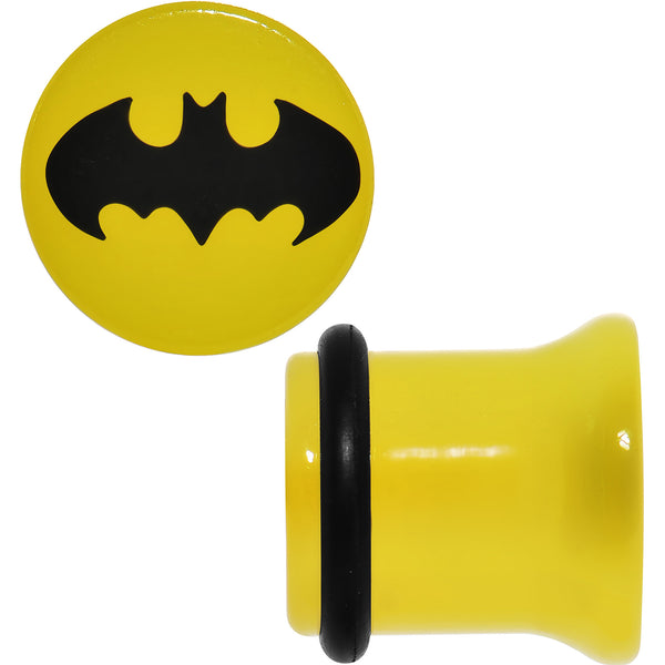 00 Gauge Officially Licensed Batman Yellow Single Flare Plug Set