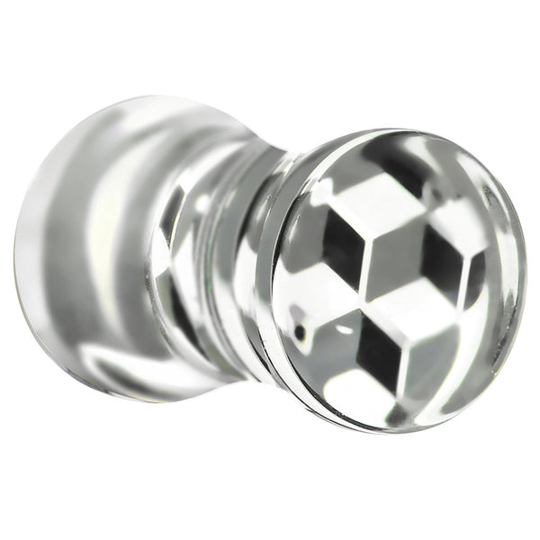 4 Gauge Optical Cubes Acrylic Saddle Plug