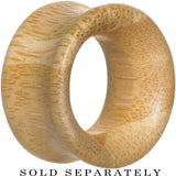 7/8 Organic Bamboo Wood Double Flare Tunnel