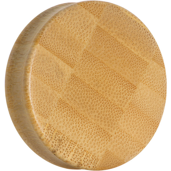 45mm Organic Bamboo Wood Saddle Plug