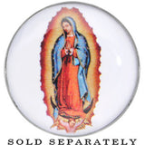 0 Gauge Our Lady of Guadalupe Steel Screw Fit Plug