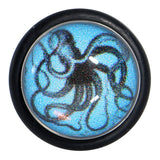 Ocean Blue and Octopus Cheater Plug