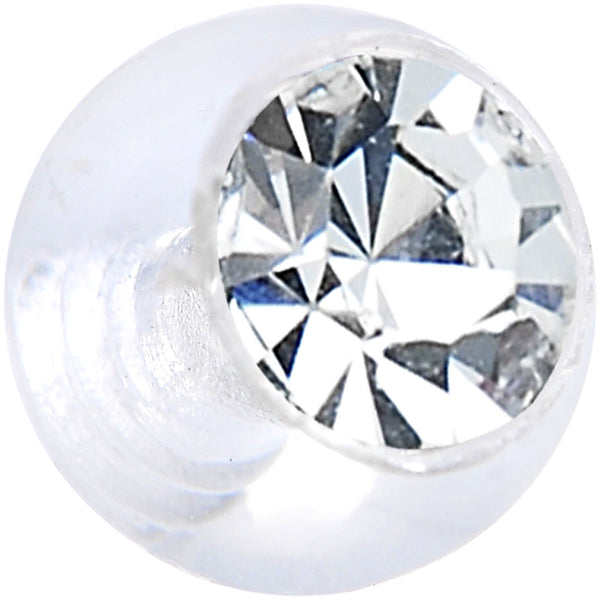 6mm Clear Gem Clear Acrylic Replacement Ball