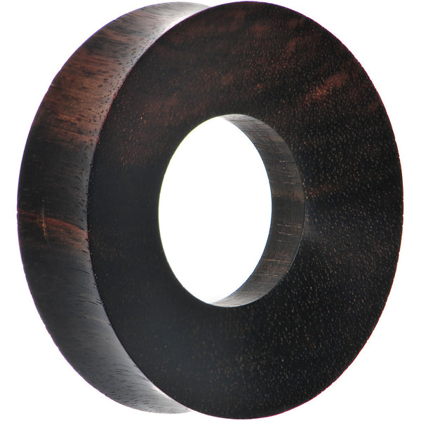 50mm Organic Iron Wood Double Flare Tunnel