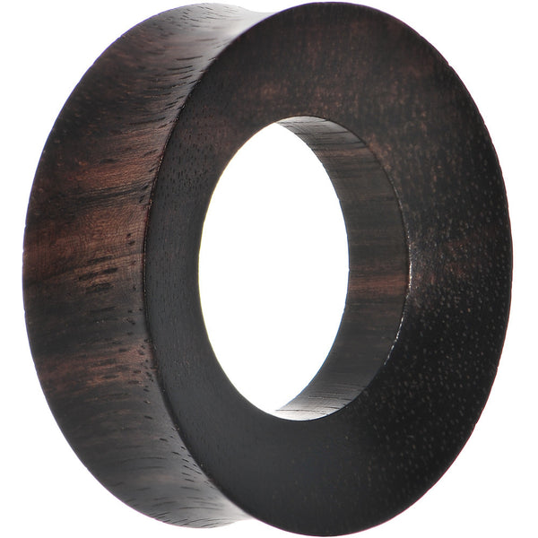 38mm Organic Iron Wood Double Flare Tunnel