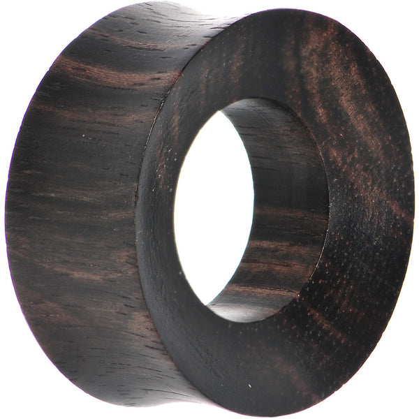 28mm Organic Iron Wood Double Flare Tunnel