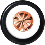 White Acrylic Pink Flashy Tire Rim Taper 2 Gauge to 20mm