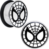 "3/4"" Licensed Spider-Man Single Flare Steel Tunnel Plugs Set"