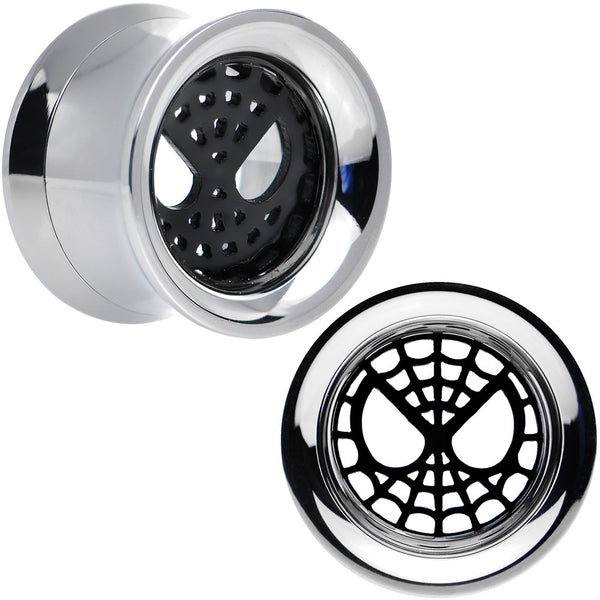 1/2 Licensed Spider-Man Steel Screw Fit Tunnel Plugs Set