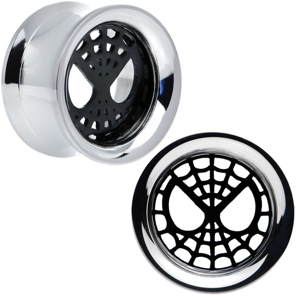 5/8 Licensed Spider-Man Steel Screw Fit Tunnel Plugs Set