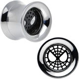 "7/16"" Licensed Spider-Man Steel Screw Fit Tunnel Plugs Set"