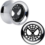 "9/16"" Licensed Spider-Man Steel Screw Fit Tunnel Plugs Set"