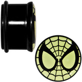 3/4 Licensed Spider-Man Glow in the Dark Screw Fit Plugs Set