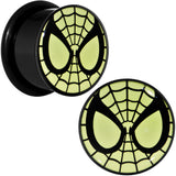 "5/8"" Licensed Spider-Man Glow in the Dark Screw Fit Plugs Set"