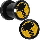 0 Gauge Licensed Hammer of Thor Acrylic Screw Fit Plugs Set