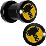 2 Gauge Licensed Hammer of Thor Acrylic Screw Fit Plugs Set