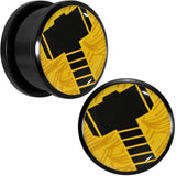 "3/4"" Licensed Hammer of Thor Acrylic Screw Fit Plugs Set"