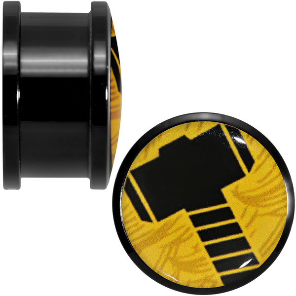 3/4 Licensed Hammer of Thor Acrylic Screw Fit Plugs Set