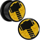 "5/8"" Licensed Hammer of Thor Acrylic Screw Fit Plugs Set"