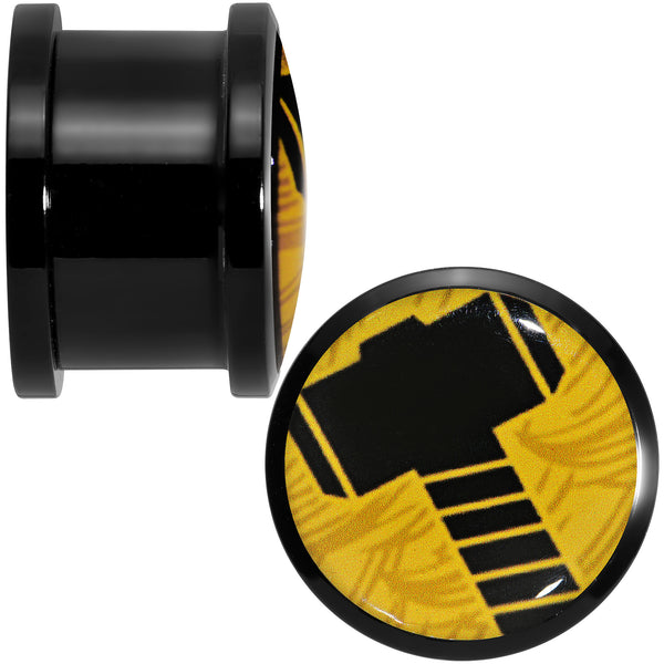 5/8 Licensed Hammer of Thor Acrylic Screw Fit Plugs Set