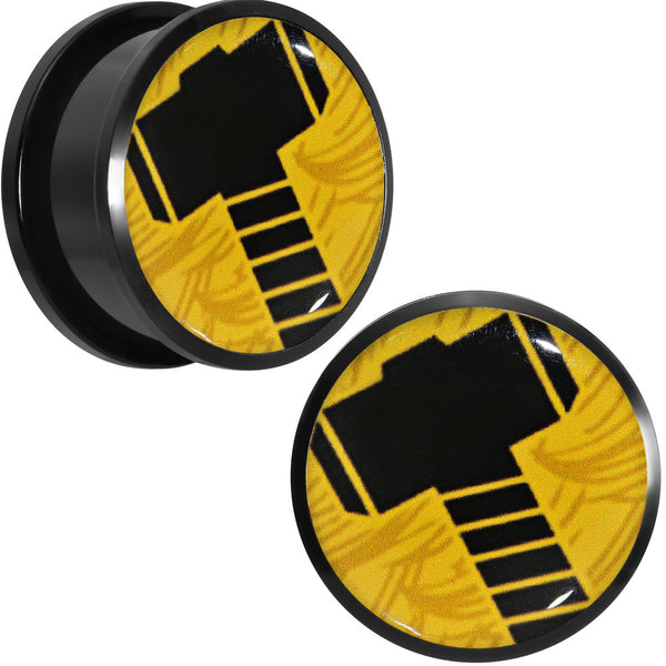 7/8 Licensed Hammer of Thor Acrylic Screw Fit Plugs Set