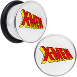 "5/8"" Licensed X-Men Single Flare Steel Tunnel Plugs Set"