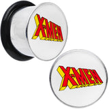 "9/16"" Licensed X-Men Single Flare Steel Tunnel Plugs Set"