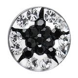 Clear Cubic Zirconia Black Star Medallion Cartilage Tragus Earring