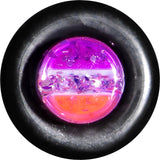 6 Gauge Multi Pink Acrylic Perfectly Rosy Glitter Taper