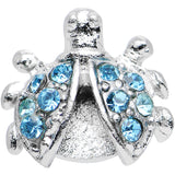 Aqua Gem Lovely Ladybug Tragus Cartilage Earring