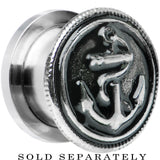 "1/2"" Stainless Steel Vintage Nautical Anchor Screw Fit Plug"