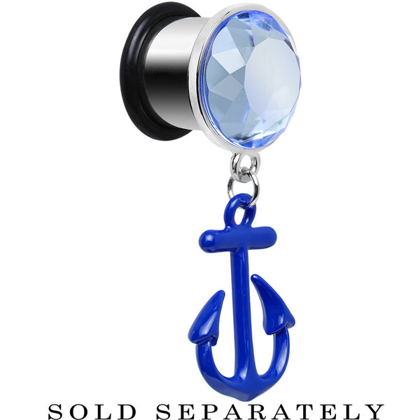 "1/2"" Blue Dangling Anchor Steel Plug"