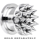 "1/2"" Super Spiked Stainless Steel Screw Fit Tunnel"