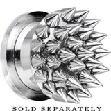 "9/16"" Super Spiked Stainless Steel Screw Fit Tunnel"