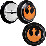 Licensed Star Wars Rebel Symbol Cheater Plug Set