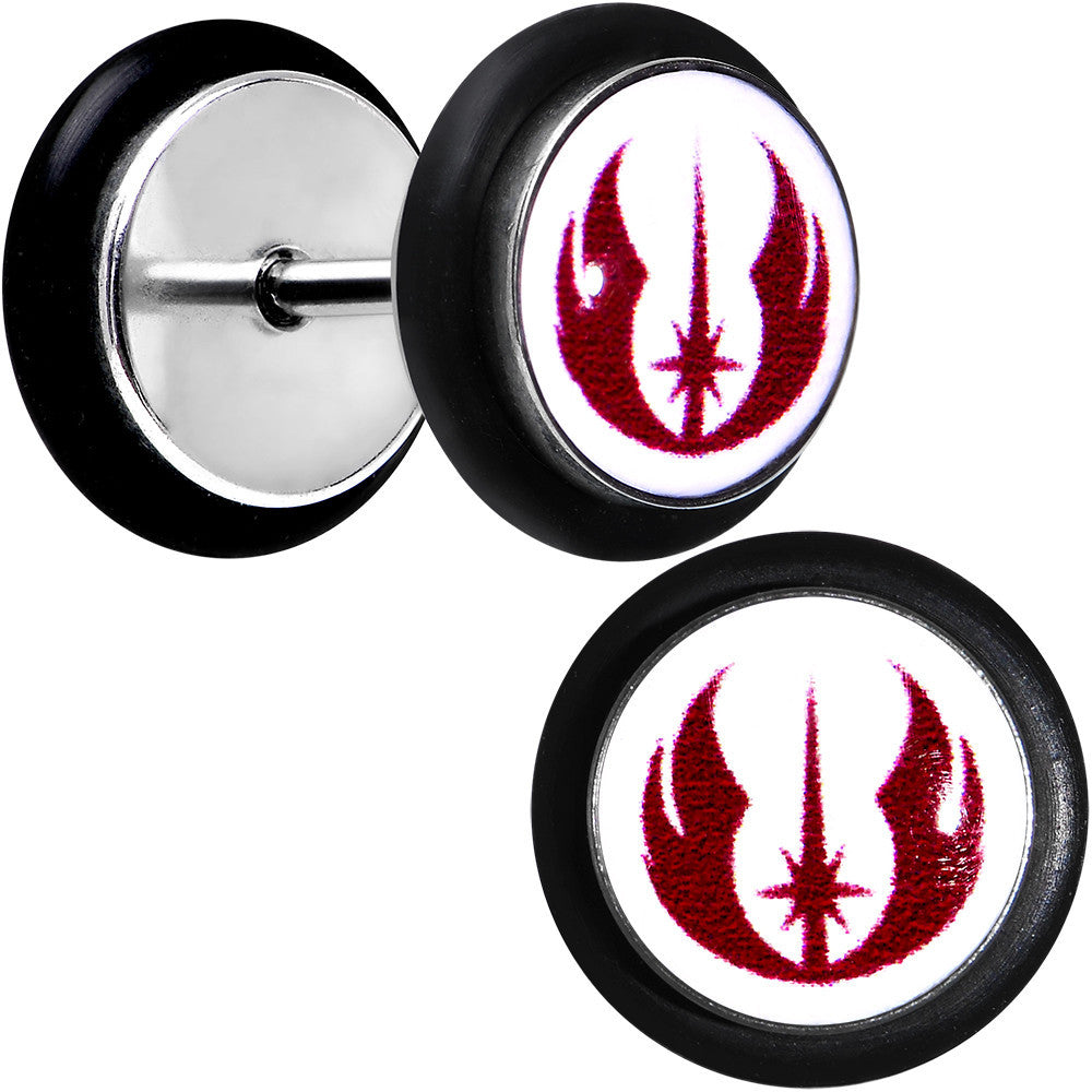 Licensed star wars jedi order symbol cheater plug set bodycandy licensed star wars jedi order symbol cheater plug set biocorpaavc