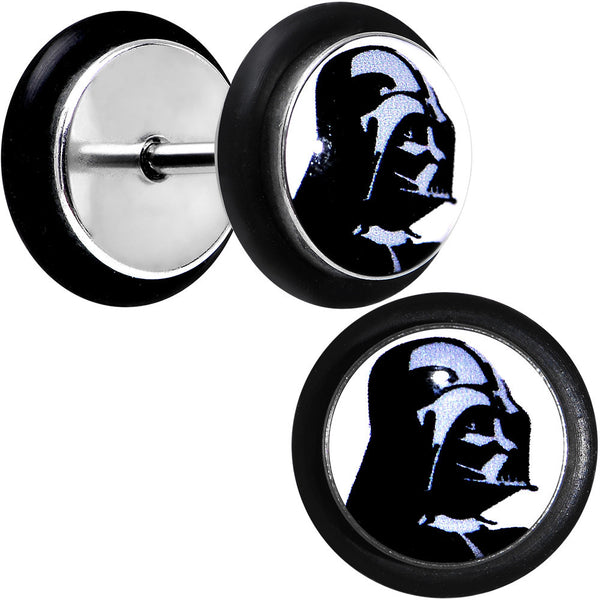 Licensed Star Wars Darth Vader Helmet Cheater Plug Set