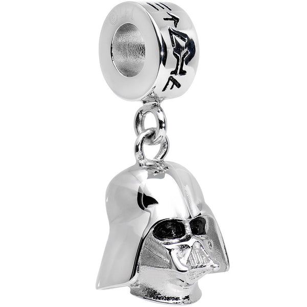 Officially Licensed 316L Stainless Steel Darth Vader Charm