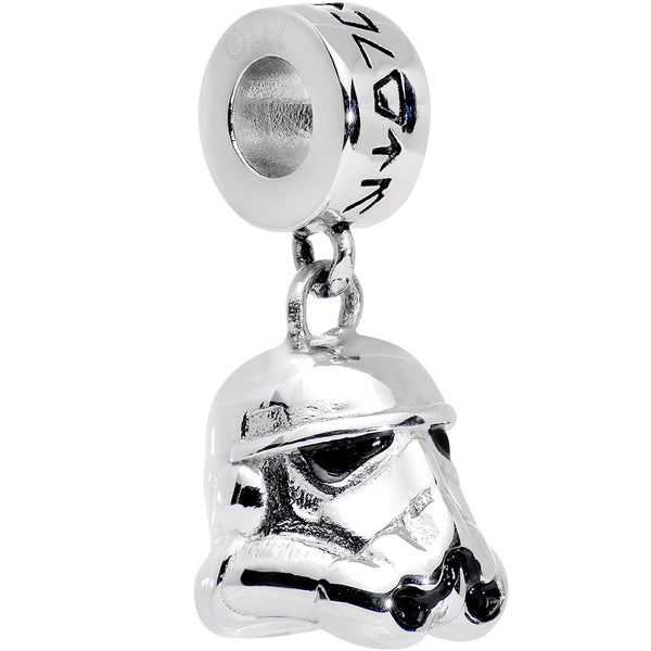 Officially Licensed 316L Stainless Steel Storm Trooper Dangle Charm