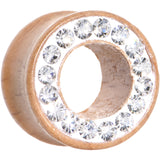9/16 Organic Wood Clear Paved Gem Tunnel