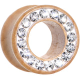 1/2 Organic Wood Clear Paved Gem Tunnel