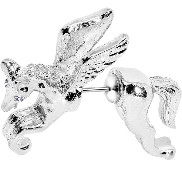 20 Gauge 316L Stainless Steel Pegasus Cheater Plug