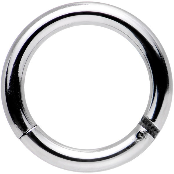 14 Gauge 5/16 Stainless Steel Hinged Segment Ring