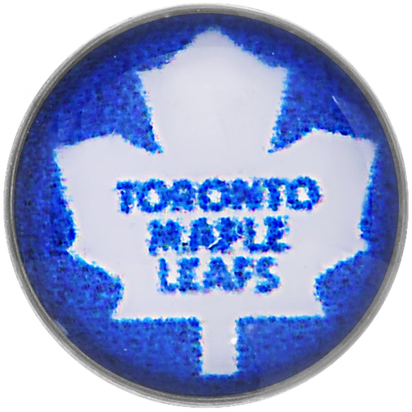 Officially Licensed NHL Toronto Maple Leafs Logo Tongue Ring
