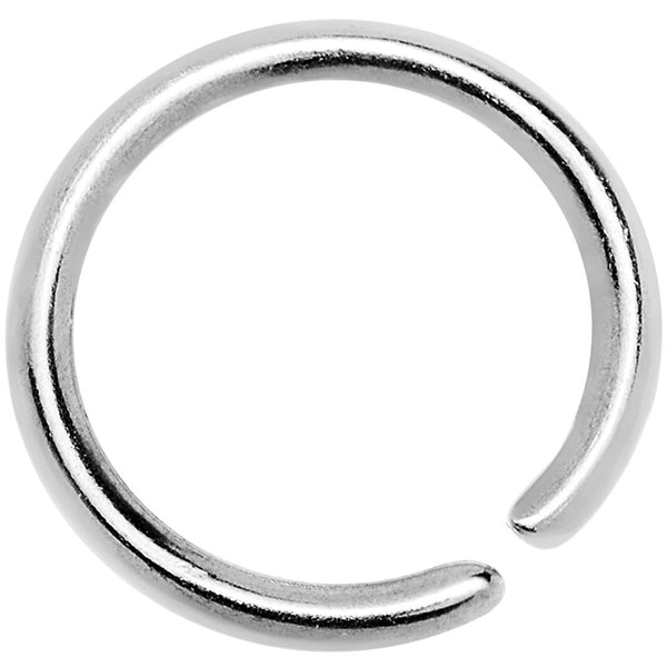 "20 Gauge 1/4"" Annealed Stainless Steel Seamless Circular Ring"