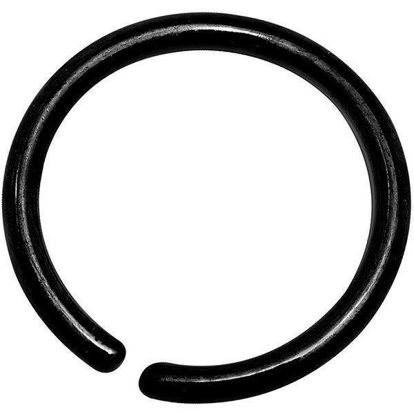 18 Gauge 5/16 Black Anodized Annealed Steel Seamless Circular Ring