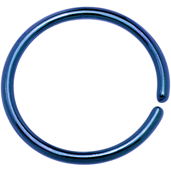18 Gauge 3/8 Blue Anodized Annealed Steel Seamless Circular Ring