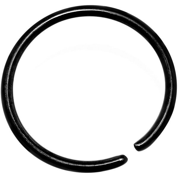 "20 Gauge 3/8"" Black Anodized Annealed Steel Seamless Circular Ring"