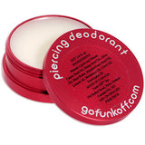 Clear Gem Pink Funk Off Natural Piercing Deodorant