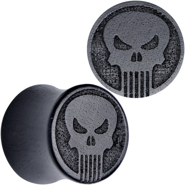 Licensed Marvel Punisher Iron Wood Saddle Plug Set